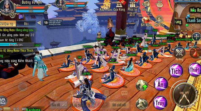 360Mobi Kiếm Khách VNG là game mobile gợi nhớ nhiều đến game online client