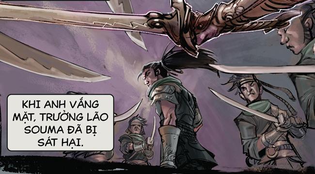 Liên Minh Huyền Thoại: Riot Games tung truyện tranh Yasuo và Riven cùng truyện ngắn về 2 nhân vật này