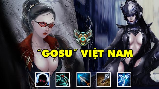 """LMHT: """"Gosu"""" phiên bản Việt – Với hơn 1.200.000 điểm thông thạo Vayne rank Cao Thủ"""