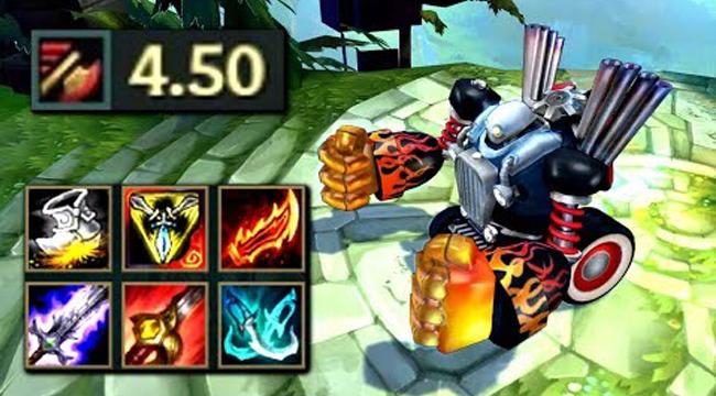 Liên Minh Huyền Thoại: Cái kết bất ngờ khi cầm Blitzcrank lên Full tốc độ đánh