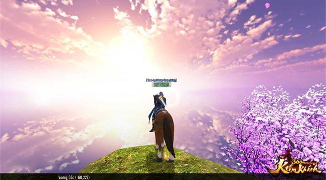 360mobi Kiếm Khách VNG khắc họa những chú ngựa đầy anh dũng và khí phách