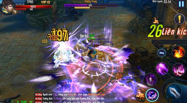 Mã Đạp Thiên Quân là sân chơi cho game thủ tự sáng tạo nên một phong cách PK độc nhất