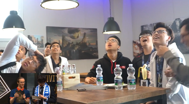 LMHT: Phản ứng của các thành viên EVOS Esports khi biết được kết quả bốc thăm