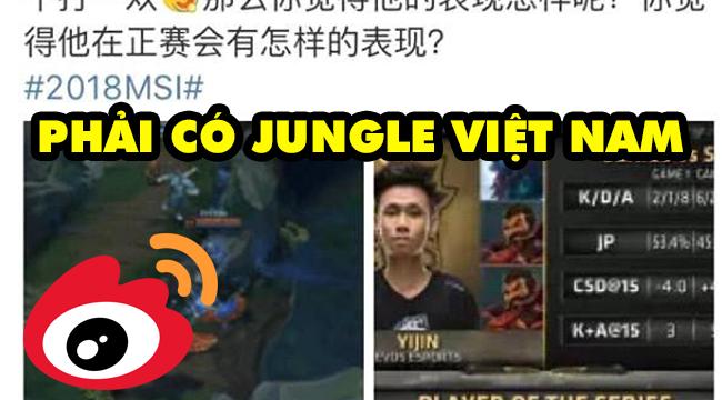 """Cộng đồng LMHT Trung Quốc: """"Team thế giới phải có Top Mid Hàn Quốc, Ad Trung Quốc và Jungle Việt Nam"""""""
