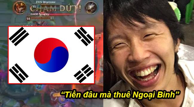 """Cộng đồng LMHT Hàn Quốc kinh ngạc sau chiến thắng của Việt Nam: """"Không có ngoại binh mà đánh tởm thế"""""""