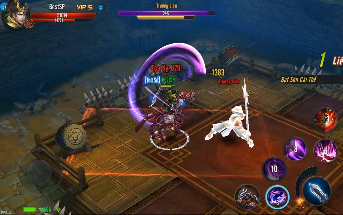 4 lý do không nên bỏ lỡ tựa game chiến kỵ độc đáo Mã Đạp Thiên Quân