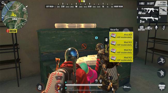 Rules of Survival xuất hiện bug khiến trạm xăng lúc nào cũng đầy túi cứu thương