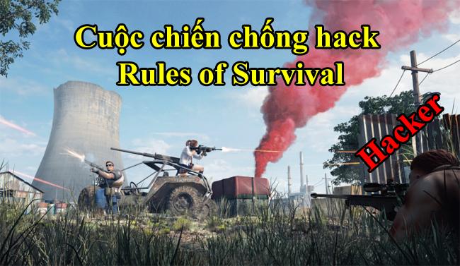 Những biện pháp cộng đồng đề xuất nhằm giảm thiểu hack trong Rules of Survival