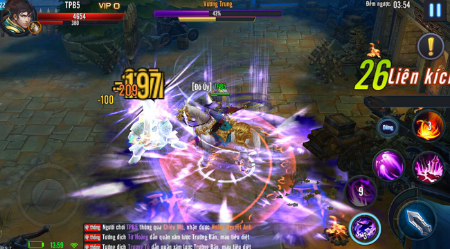 Mã Đạp Thiên Quân – Game mobile sở hữu cơ chế chiến đấu độc lạ định ngày ra mắt
