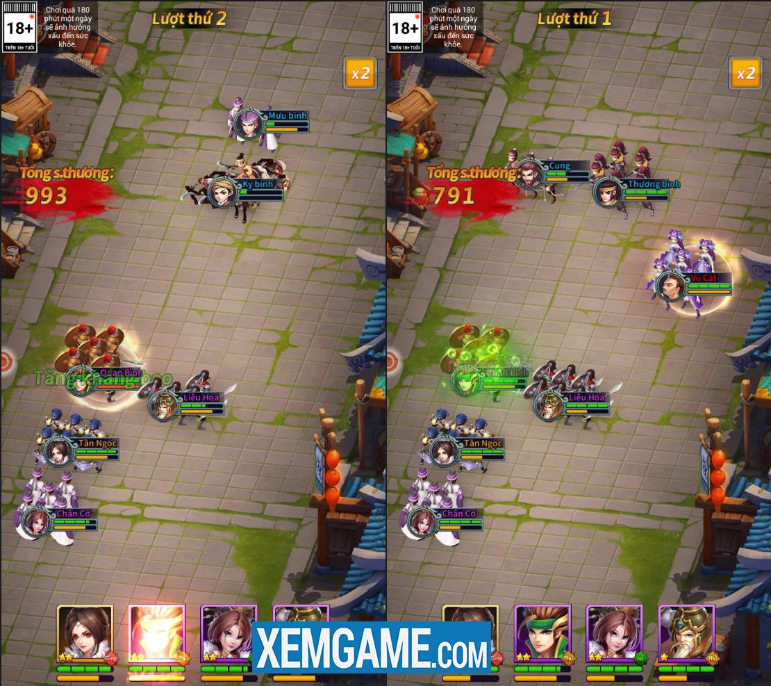 Kinh Điển Tam Quốc Mobile   XEMGAME.COM