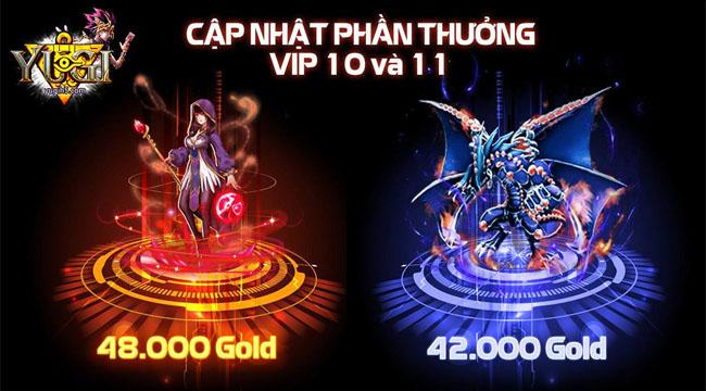 Yugi H5 gây tranh cãi khi đưa ra những mốc nạp lên đến cả trăm triệu cho … bài ảo