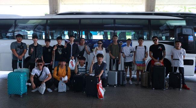 CFMI 2018: Đội tuyển Trung, Hàn đổ bộ sân bay Tân Sơn Nhất