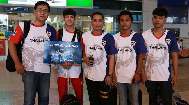 CFMI 2018: Đội tuyển Thái Lan đã có mặt tại TPHCM chuẩn bị cho giải đấu