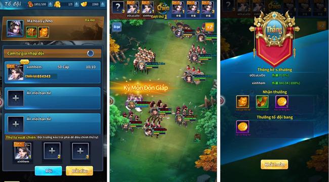 Kinh Điển Tam Quốc mang đến nhiều đột phá mới mẻ cho dòng game chiến thuật kinh điển