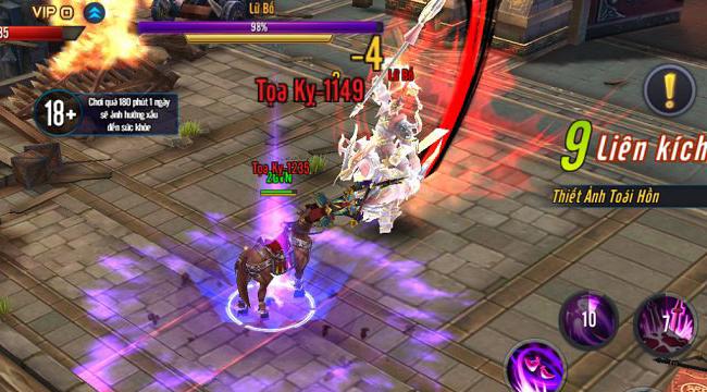 Mã Đạp Thiên Quân mang đến hệ thống gameplay có chiều sâu và nền đồ họa đẹp mắt