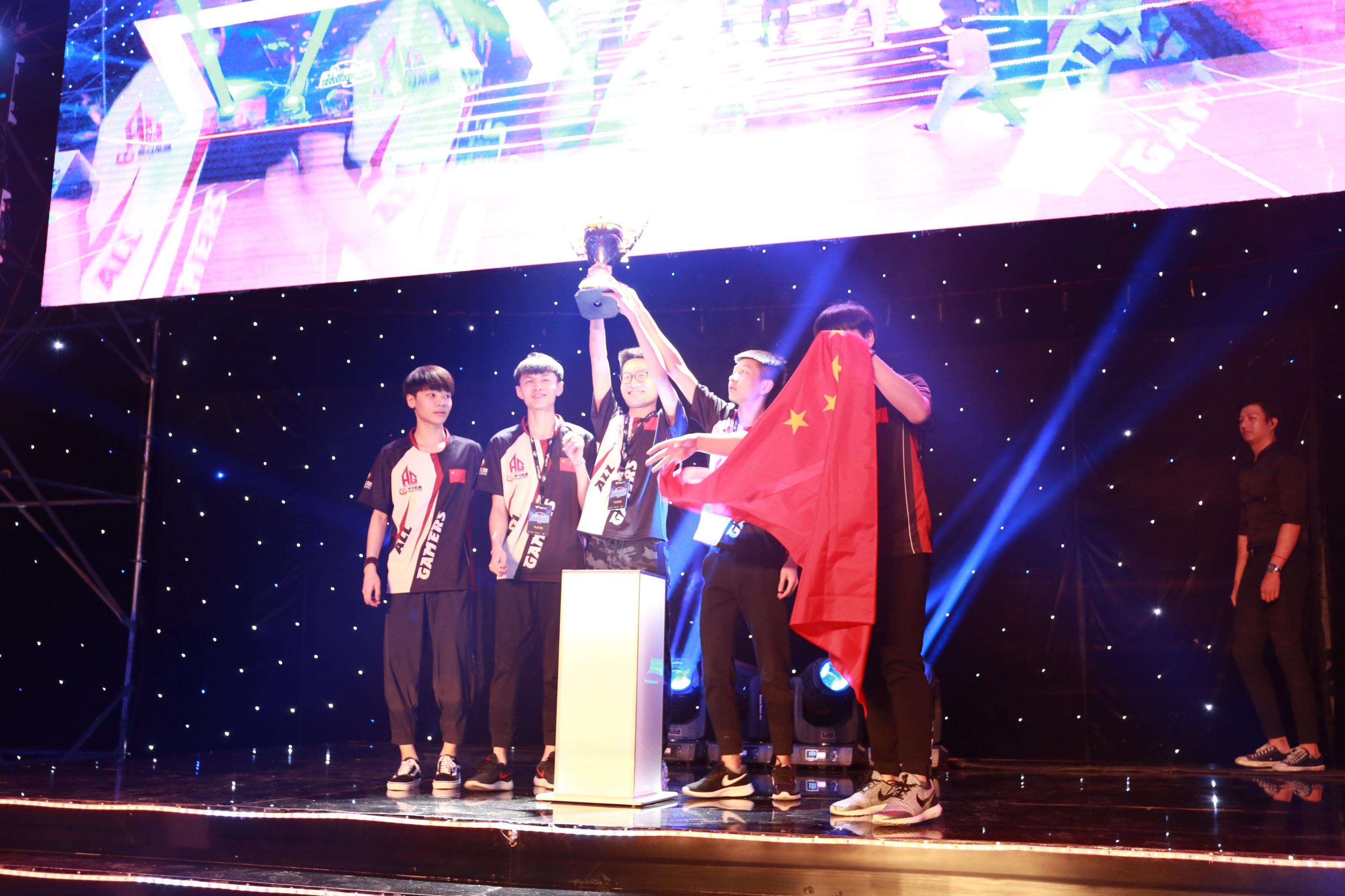 AG lên ngôi vô địch giải quốc tế CFMI 2018 tại Việt Nam