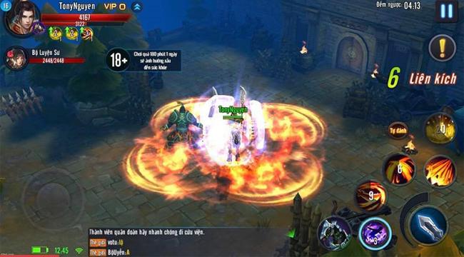 Chất lượng đồ họa lẫn gameplay của Mã Đạp Thiên Quân đều làm hài lòng game thủ