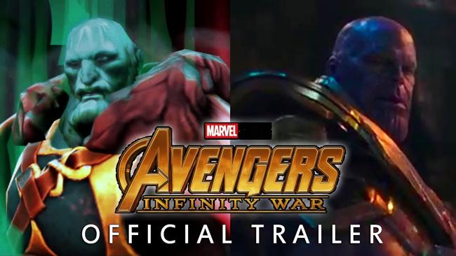 Chiêm ngưỡng trailer của Infinity War được làm theo phong cách Dota 2