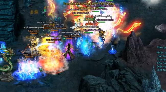 """Game thủ """"rần rần"""" kéo nhau PK tại chiến trường đối kháng PvP cực hot trong Ngạo Kiếm Vô Song"""