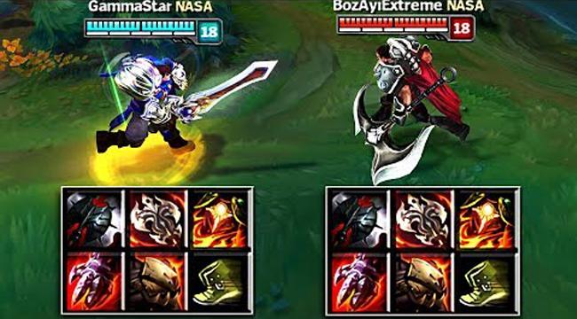 Liên Minh Huyền Thoại: Garen vs Darius full level full trang bị, ai sẽ chiến thắng?