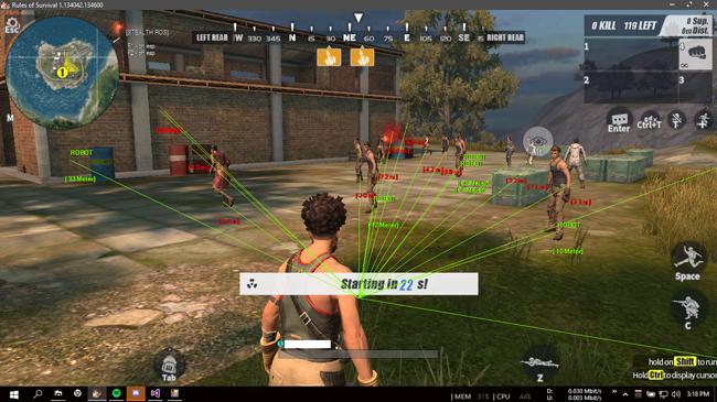 Rules of Survival đề biện pháp chống hack mới, có file lạ can thiệp là không khởi động được game