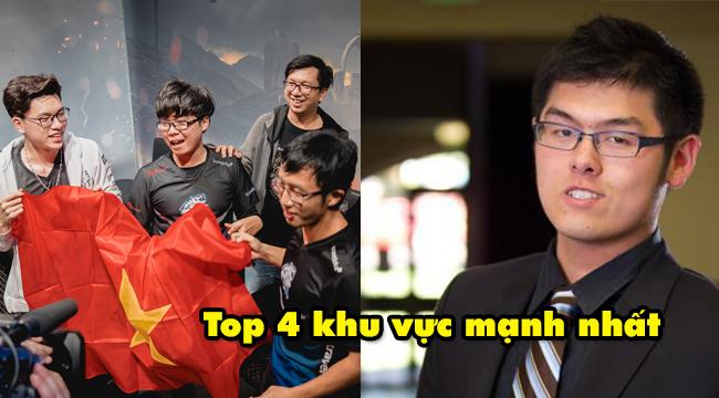 """Ivan Yeo – người sáng lập ra đội tuyển EVOS eSports: """"Việt Nam sẽ lọt TOP 4 khu vực mạnh nhất trên thế giới"""""""