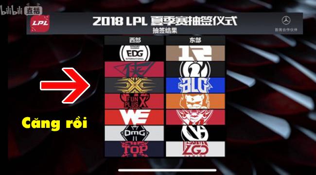Liên Minh Huyền Thoại: LPL Mùa Hè 2018 đã chia xong 2 bảng, SofM toàn gặp đối thủ sừng sỏ