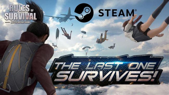 Rules of Survival xuất hiện trên Steam sẽ là cứu cánh cho những game thủ sợ hack