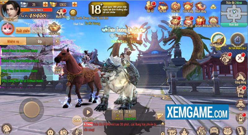 Trường Sinh Quyết VNG | XEMGAME.COM