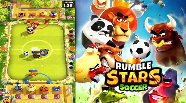Rumble Stars Soccer – khi game bóng đá kết hợp cùng Clash Royale