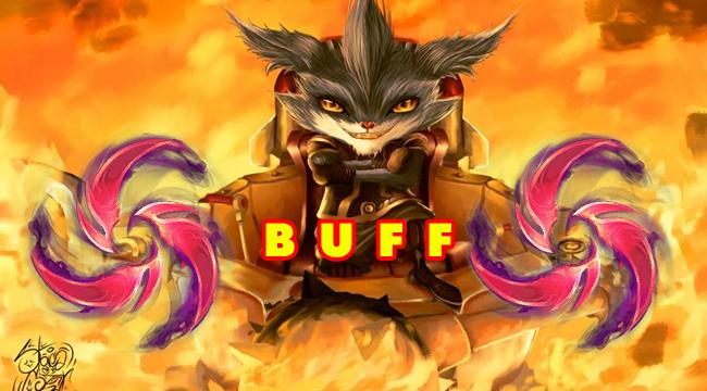 Liên Minh Huyền Thoại: Riot Games muốn Rumble quay trở lại – Buff ngọc mới Mưa Kiếm