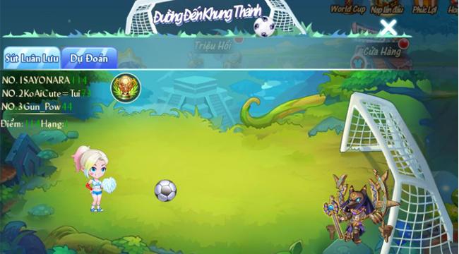 GunPow tung phiên bản cập nhật mới để chào đón World Cup