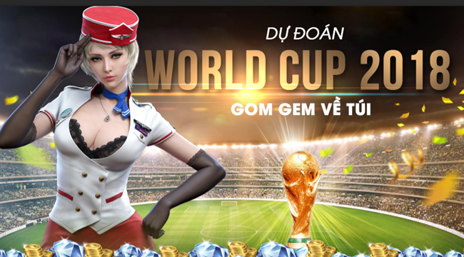 CrossFire Legends hòa nhịp cùng World Cup 2018 với hàng loạt sự kiện hấp dẫn