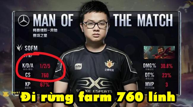 LMHT: SofM farm cháy máy với 760 lính khi cầm Graves – Team WE thua tức tưởi trước Snake Esports vì con bài dị