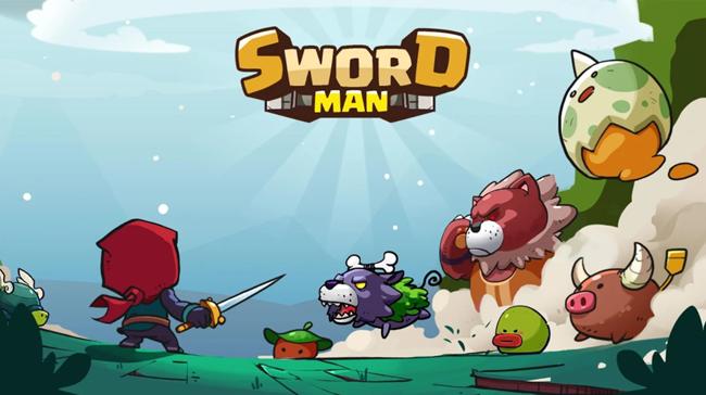 Sword Man – game mang huyền thoại đi cảnh Rockman lên di động là đây