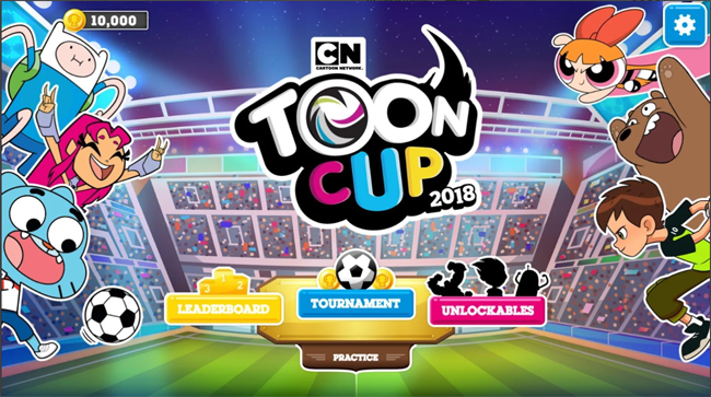 Toon Cup 2018 : Khi dàn nhân vật hoạt hình đá bóng