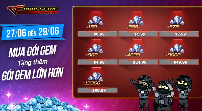 Crossfire Legends trình làng vũ khí mới Kukri VIP Inferno, M4A1 Noble Gold, AK47 Noble Gold