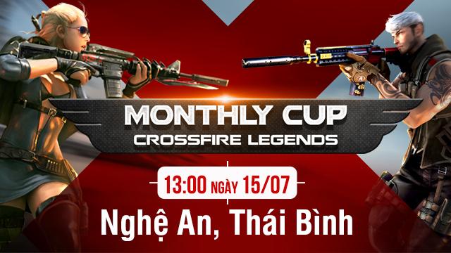 Xạ thủ CFL Nghệ An và Thái Bình hãy sẵn sàng cho Monthly Cup cuối tuần này