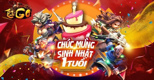 XemGame tặng 300 Giftcode game Tam Quốc GO mừng sinh nhật 1 tuổi tại Việt Nam