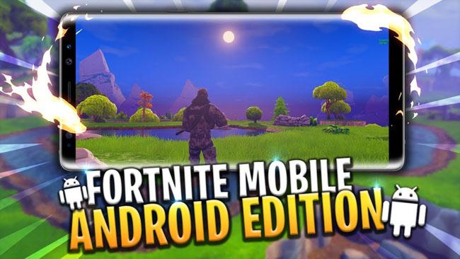 Fortnite mobile bản Android sẽ độc quyền trên Samsung khi ra mắt