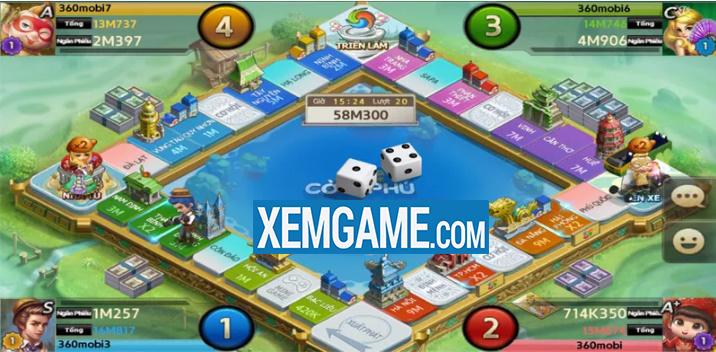 360Mobi Cờ Tỷ Phú | XEMGAME.COM