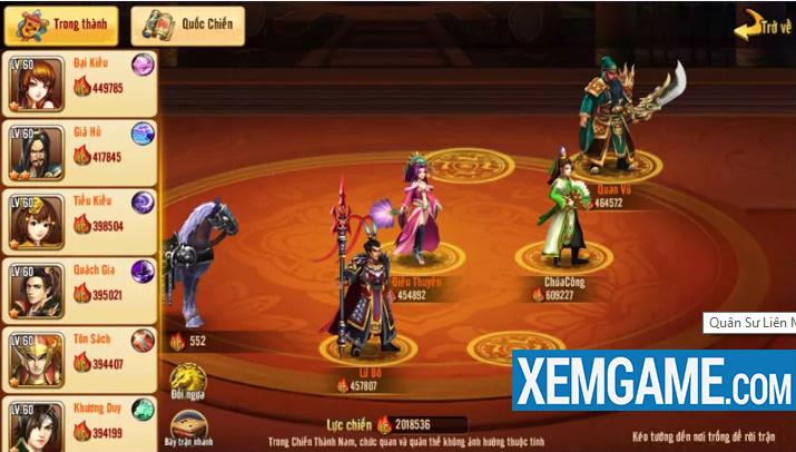 Quân Sư Liên Minh Tam Quốc | XEMGAME.COM