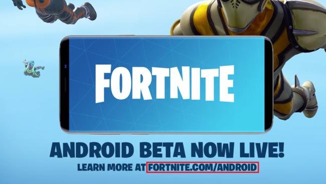 Nhắc bạn : Hãy tỉnh táo khi tải Fortnite mobile bản Android về máy!!!