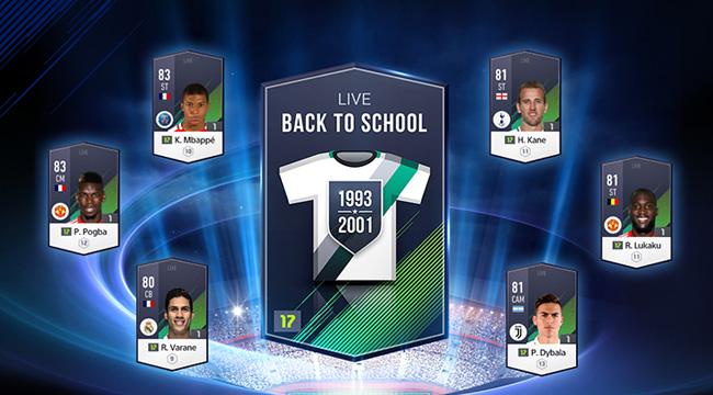 Fifa Online 4 ra mắt gói cầu thủ Back to School cùng Vòng quay may mắn nhân dịp năm học mới