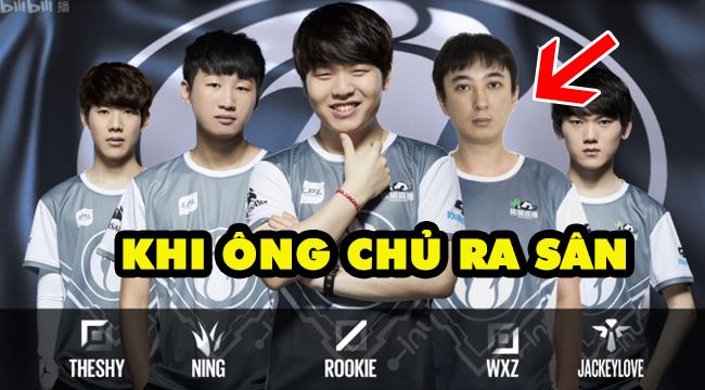 LMHT: Toàn cảnh màn ra mắt của ông chủ IG, Vương Tư Thông – Team 4 vs 5 mà vẫn khỏe re