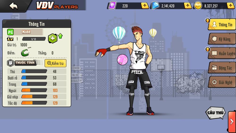 bóng rổ mobi