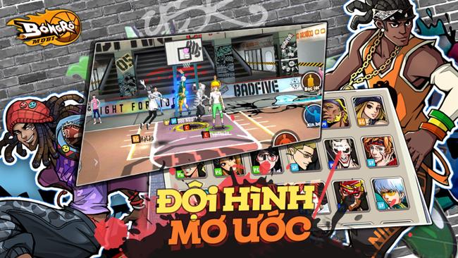 Bóng Rổ Mobi VNG: Tải game ngay và đừng quên tập luyện từ 9h ngày 23/8