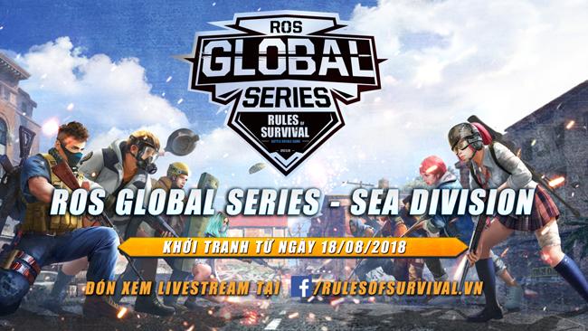 ROS Mobile Global Series khu vực Đông Nam Á kịch tính từng phút lúc 18h ngày 25/8