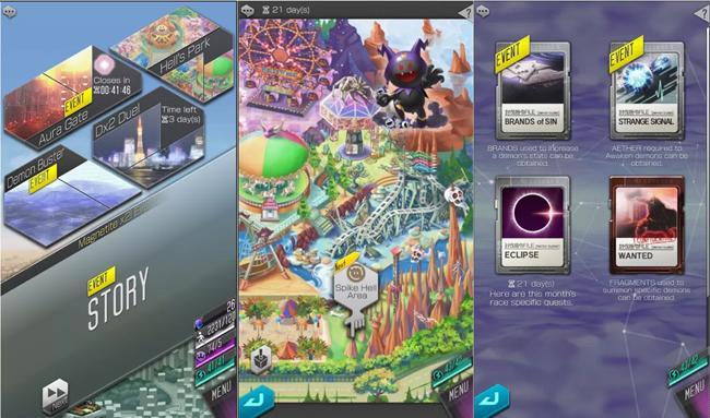 Shin Megami Tensei Liberation Dx2 mang đến hệ thống phụ bản để cày cuốc cực đa dạng