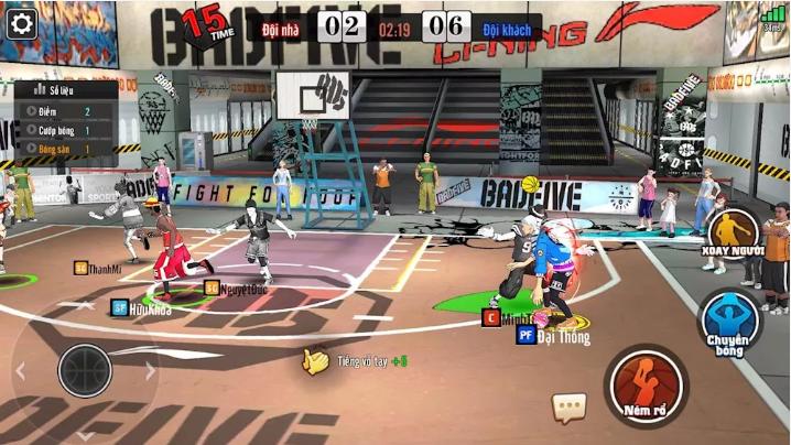 Nhiều streamer nổi tiếng đổ vào chơi Bóng Rổ Mobi